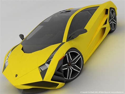 Sporty Futuristic Lamborghini X Concept By Emil Baddal