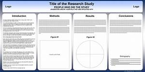 free powerpoint scientific research poster templates for With eposter template