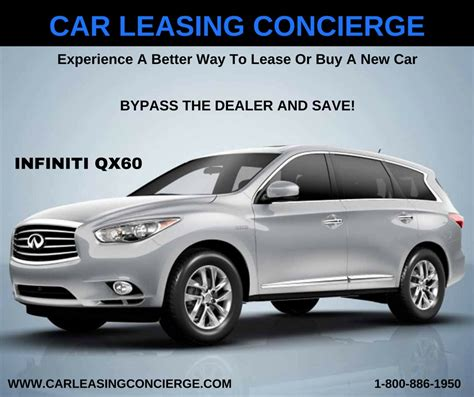 Who Has The Best Lease Deals On Cars by Drive The Best Luxury Car Lease Deals On Infiniti Qx60