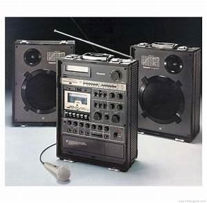 Panasonic Rx-a2 - Manual - Mobile Disco Cassette Recorder