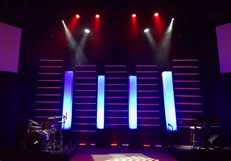 layers  towers church stage design ideas