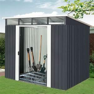Abri De Jardin En Kit : abri de jardin m tal 5 64m skylight anthracite kit d ~ Dailycaller-alerts.com Idées de Décoration