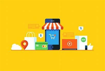 Commerce Ecommerce Marketing Proximidad Retailers Indonesia Tecnologias