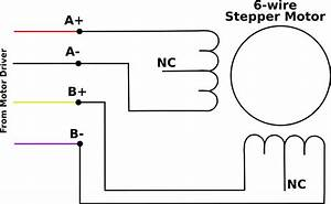 Stepper Motor 8 Wire Color Code