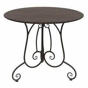Table De Jardin Fer Forgé : table de jardin fer forge charme achat vente table a ~ Louise-bijoux.com Idées de Décoration