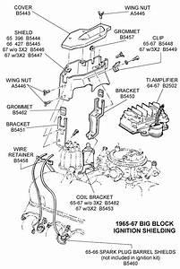 Big Block Ignition Shielding - Diagram View