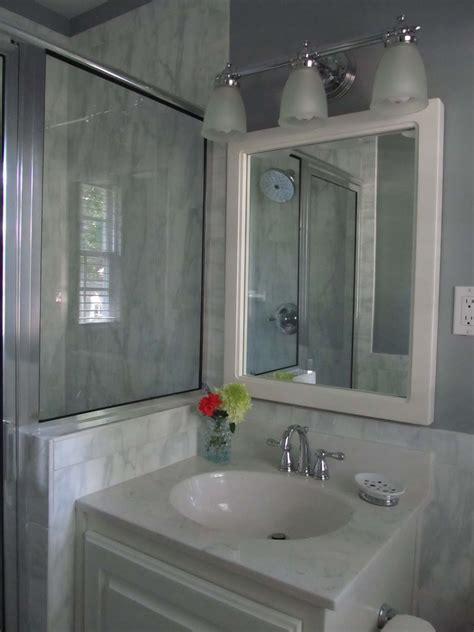 1980's Bath Renovation, Sleek and Modern