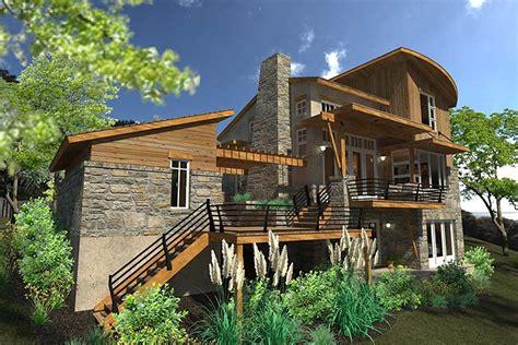 cottage craftsman modern house plan