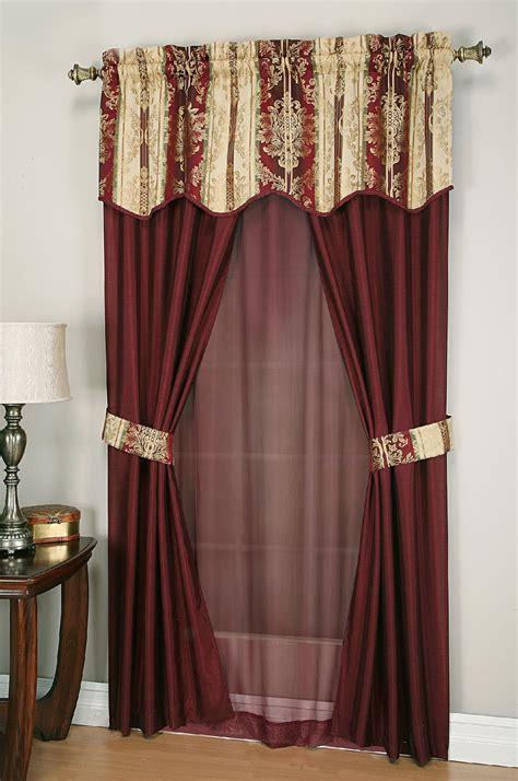 cannon  piece curtain set promenade