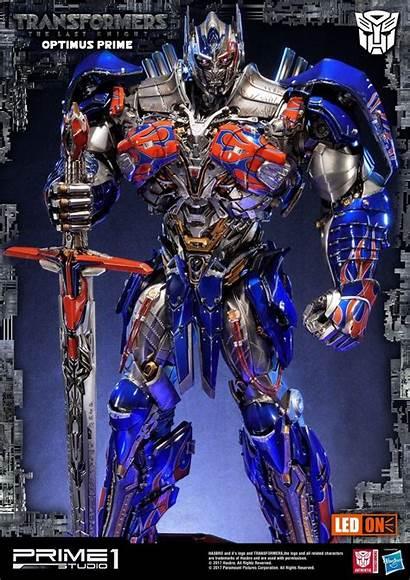 Optimus Prime Transformers Knight Last Studio Tlk