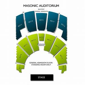 Masonic Auditorium Cleveland Seating Chart Vivid Seats
