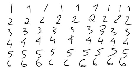 writing numbers png  writing numberspng transparent