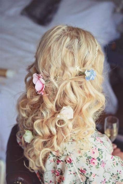 half up wedding hairstyles plaits braids wedding make