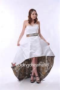 white camo wedding dresses wholesale and retail chic sweetheart asymmetrical white camo wedding dress from weddingdresstrend