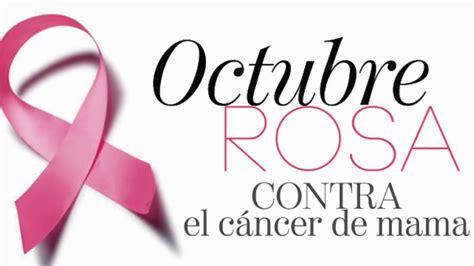 19 De Octubre Se Celebra Día De Lucha Contra El Cancér