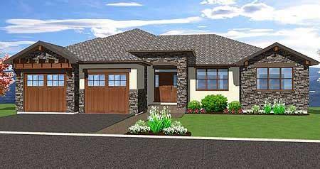 Spacious Hillside Home With Walkout Basement 67702MG