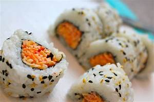 Spicy Crab Sushi | Foods I Love | Pinterest