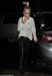 What Does Wps Stand For by Rita Ora Flashes Her Pert Bottom In See Through Skirt At
