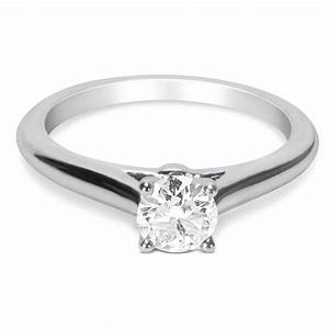 BRAND NEW Cartier Diamond Solitaire Engagement Ring In