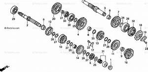 Honda Motorcycle 1993 Oem Parts Diagram For Transmission