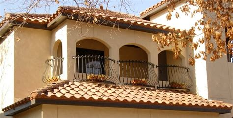 Rustic Mediterranean House Balcony Ideas Bulging Iron