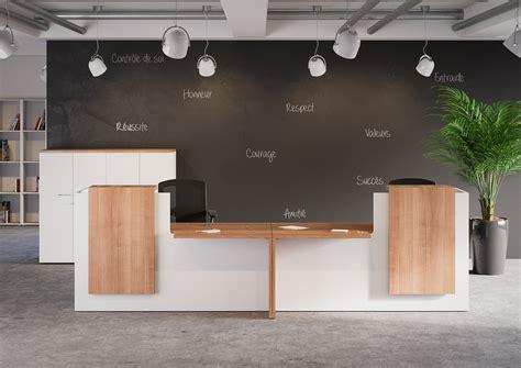 bureau comptoir accueil mobilier bureau service