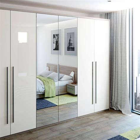 Small Mirrored Wardrobe by Fitted Wardrobes Mirrored Wardrobe Beyond Bathrooms