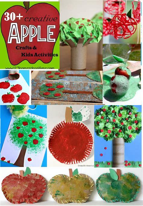 30 apple crafts amp activities for september 555 | apple crafts kids activites september toddler preschool kindergarten first grade 2nd grade