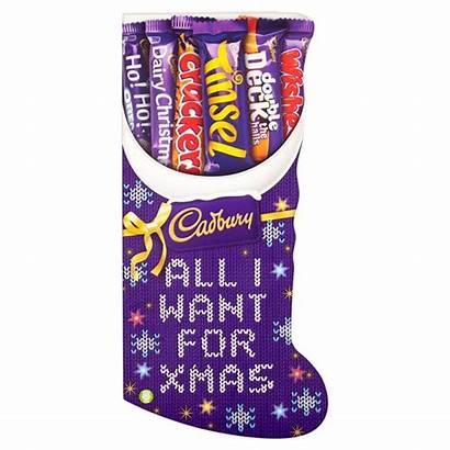 Cadbury Selection Stocking Dairy Milk Chocolate 194g