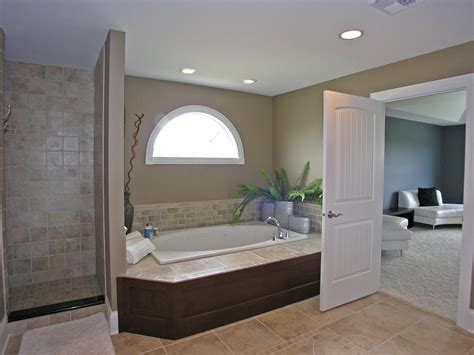Shower Bath With Jets by Master Bath With Whirlpool Tub And Separate Shower Stall