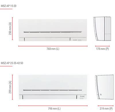 condizionatori dual split mitsubishi mxz fvf   ap