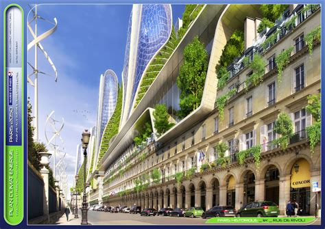 Envisioning Eco-friendly Architecture In Paris
