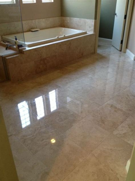 polished travertine floor natural stone polishing