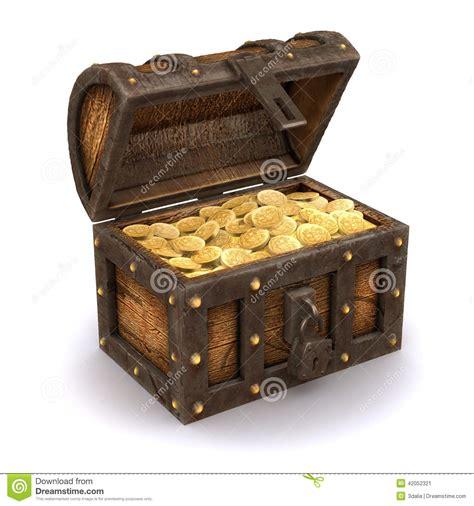 3d treasure chest stock illustration image of 42052321