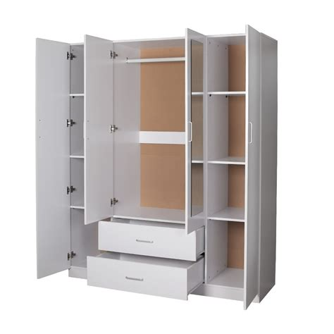 2 Door Wardrobe With Drawers And Shelves by Doors 2 Size Wardrobes Wardrobe With 2 Doors 2 Door