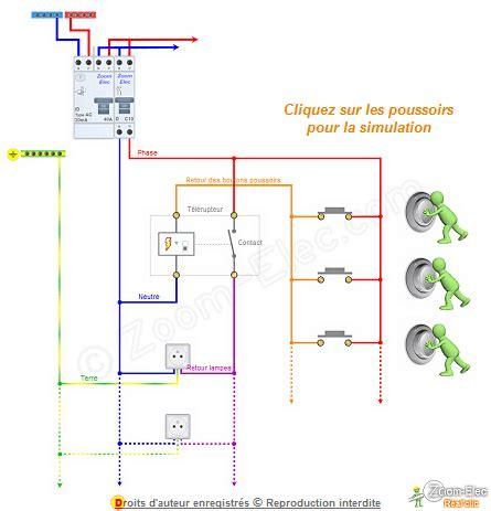 Schéma De Câblage Télérupteurs
