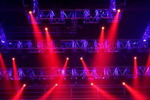 Red Stage Lights, photo, #1164825 - FreeImages.com