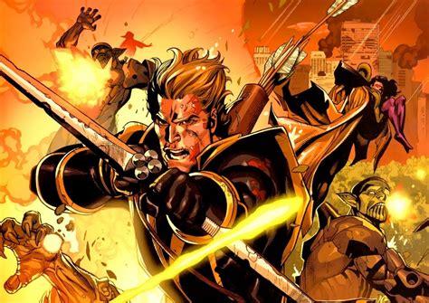 Hawkeye Captain America Bucky Barnes Battles