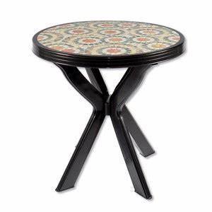 Glasplatte Rund 70 Cm : alu tisch mit schwarzer glasplatte von obi ansehen ~ Frokenaadalensverden.com Haus und Dekorationen