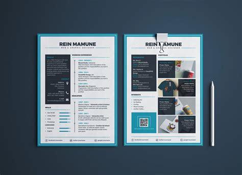 perfect resume template cover letter portfolio