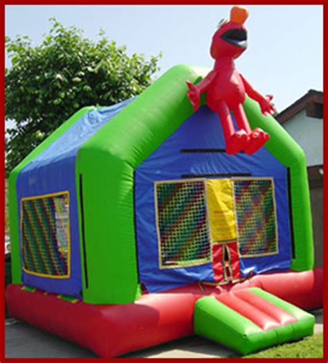 elmo bounce house jumpers san diego jumpers  rent