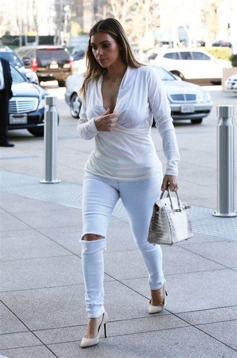 Kim Kardashian: White Hot for Business Meeting | Fashion ...