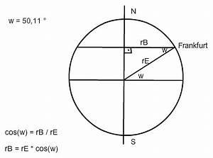 Umdrehung Berechnen : umdrehungsgeschwindigkeit einer person in frankfurt berechnen nanolounge ~ Themetempest.com Abrechnung