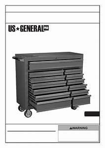 Harbor Freight Tools 44 In  13 Drawer Glossy Red