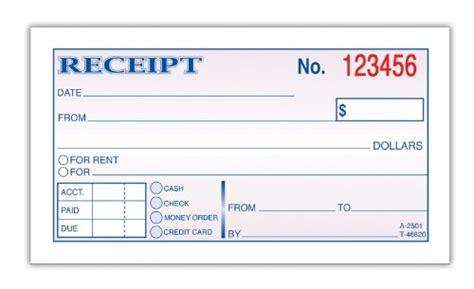 adams wire bound moneyrent receipt books  sheets