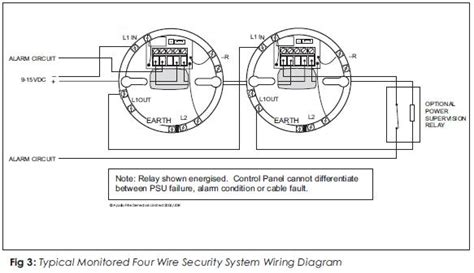 Standard Security System Wiring by Apollo Series 65 12v Relay Base For Use With Series 65