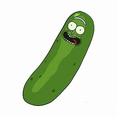 Rick Pickle Morty Stickers Redbubble Cartoon Adesivos
