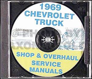 1969 Chevy Truck Overhaul Manual Original 10