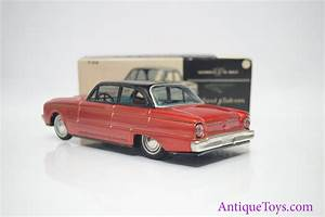 1960 Bandai Ford Falcon Sedan Friction Tin Car  Sold