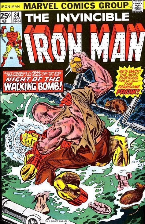 Iron Man #84 by Gil Kane | Superman comic, Marvel comic ...